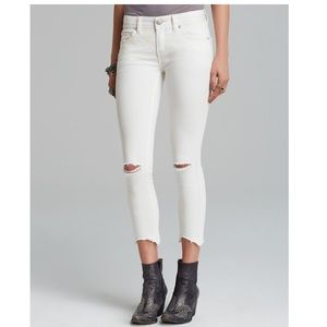 Free People ripped skinny jean